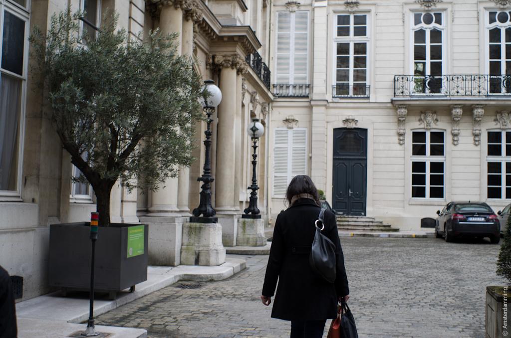 Paris, Inner Yard