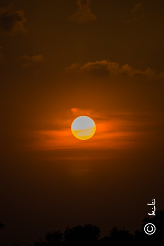light sunset sky sun canon full swarnjayantipark