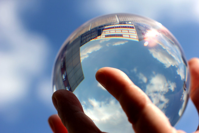 Glaskugel / Crystal Ball from Flickr via Wylio