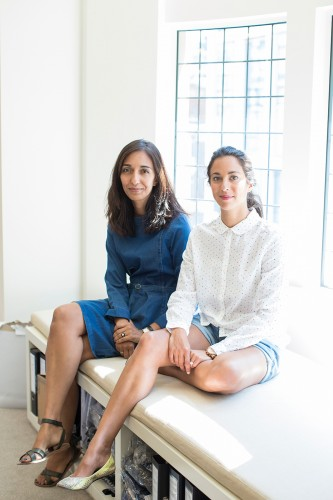 Anna Singh and Rachael Wood