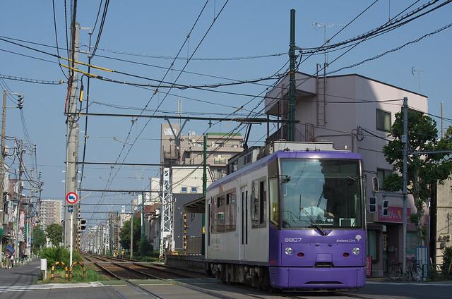 都電荒川線 Tokyo Train Story 2013年8月16日
