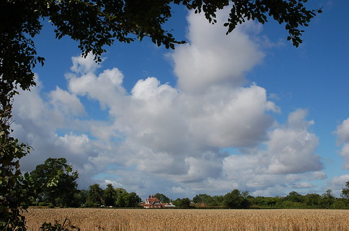 sky clouds countryside day skies cloudy norfolk eastanglia norfolkcountryside