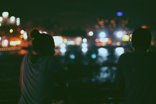 LE LOVE BLOG LONG DISTANCE RELATIONSHIP BOY GIRLMAN WOMAN NIGHT WATER CITY LIGHTS Untitled by hopalila, on Flickr