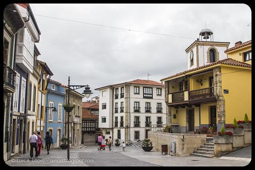 Calles de Luanco, Asturias