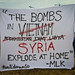 CODEPINK at March on Washington Calling for No Military Intervention in Syria by TCHallMedia