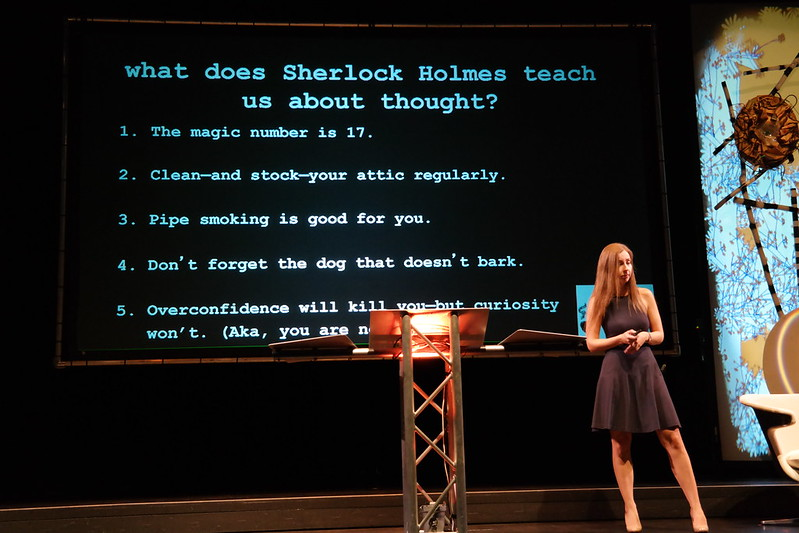 Learning to think like Sherlock Holmes with Maria Konnikova #IF13
