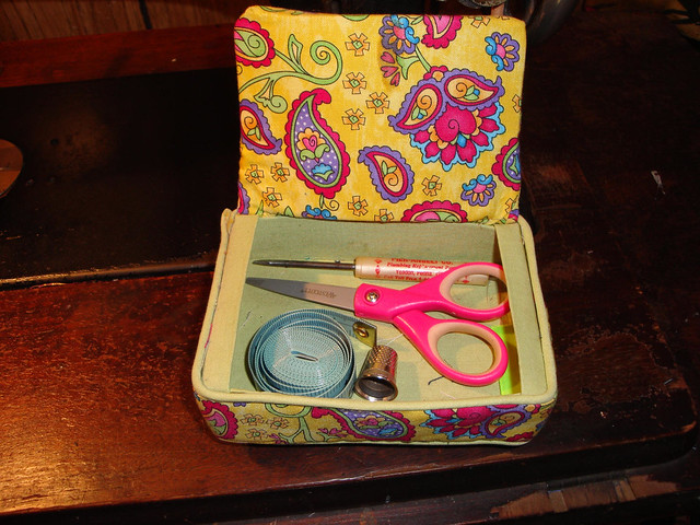 Pin Cushion Box Inside