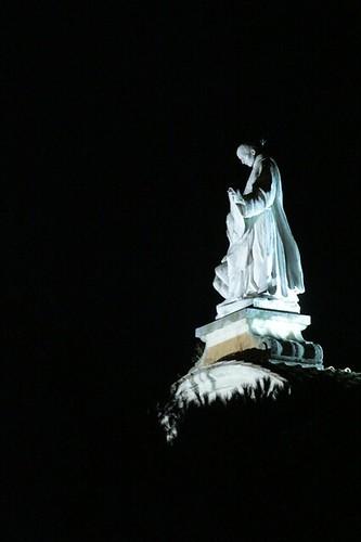 la statua del fatebenefratelli