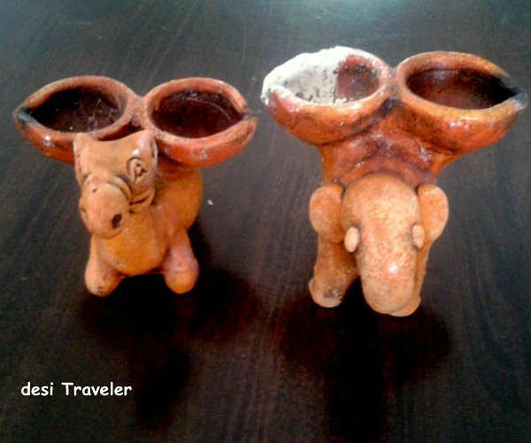 camel shape earthen Diyas For Diwali