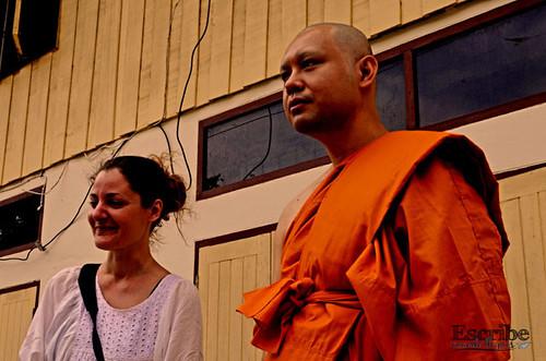 Ordenación monje budista16