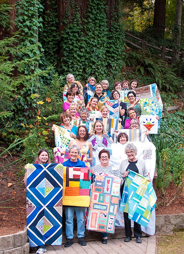 South Bay Area Modern Quilt Guild retreat