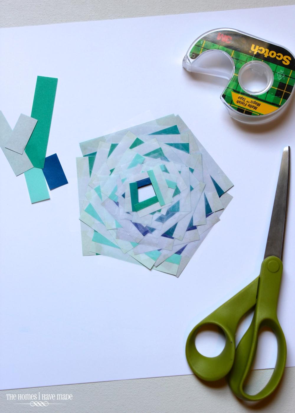Iris Paper Folding Art-009