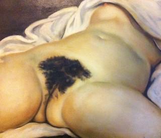 d'apres Courbet, 2003