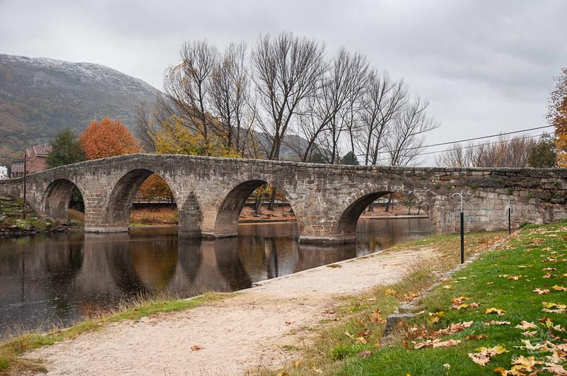 El Puente Románico de Navaluenga