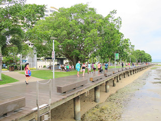 Low tide at Cairns Promenade
