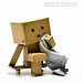 Danbo All Sweaty. by Randy Santa-Ana