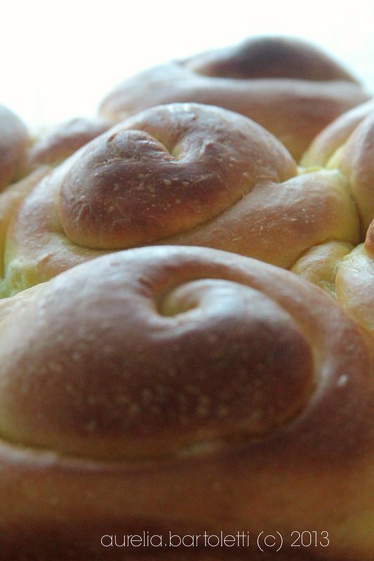 Pane svedese allo zafferano