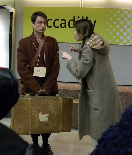 Suitcase - Czech boy and host's daughter