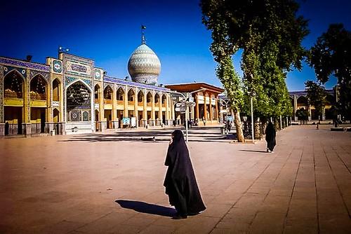 Mausoleo de Shiraz (Irán)