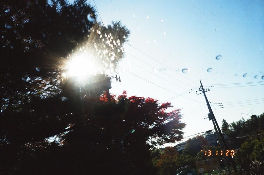 glittery raindrop