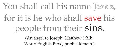 Matthew 1 21 Palatino