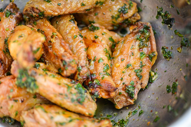 Parmesan Garlic Wings