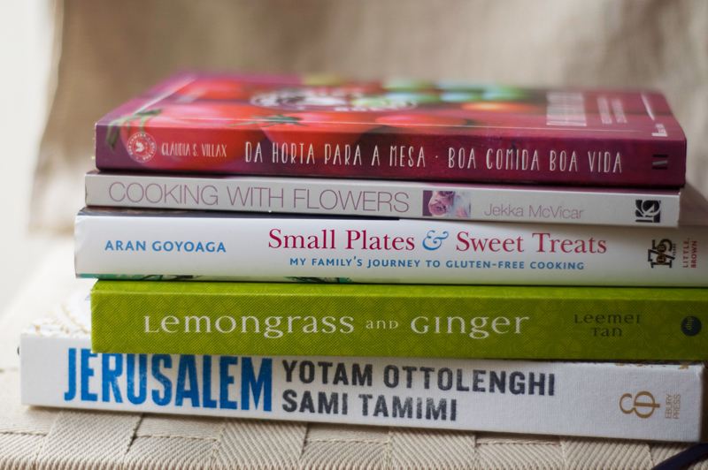 Livros favoritos 2013 // Favourite Cookbooks of the Year