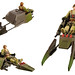 1998 Star Wars: Expanded Universe Speeder Bike by philipreed