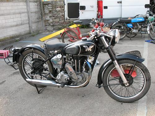 Matchless vintage bike