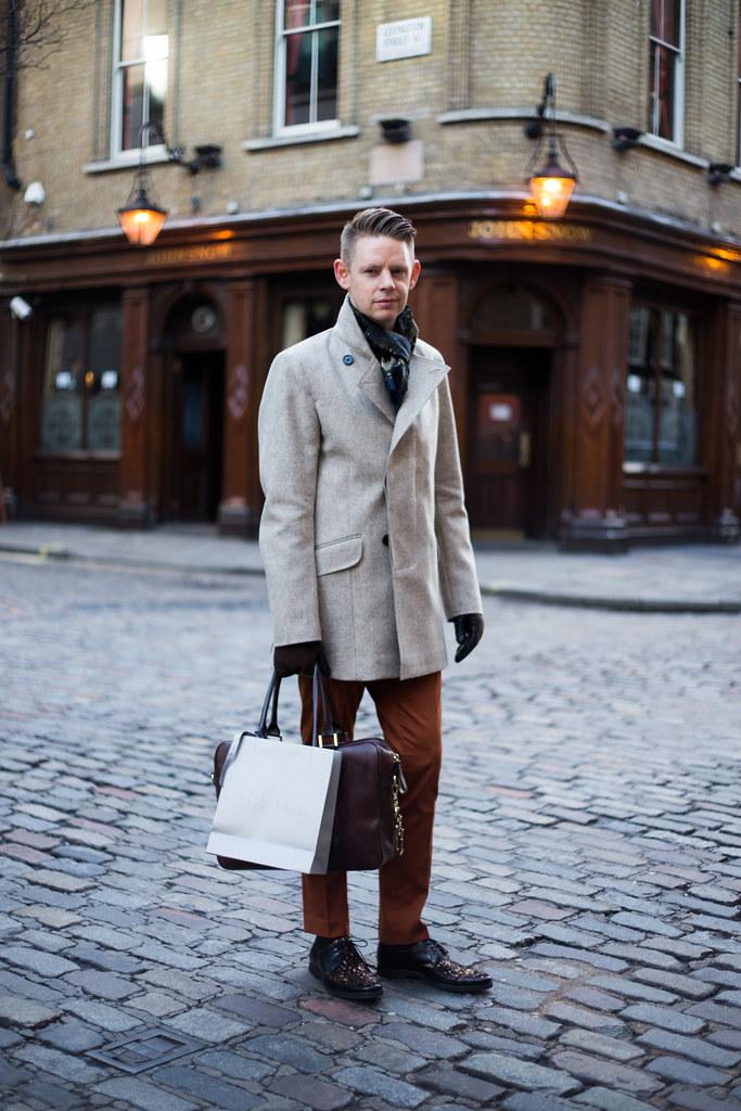 Street Style - Ben, Broadwick Street