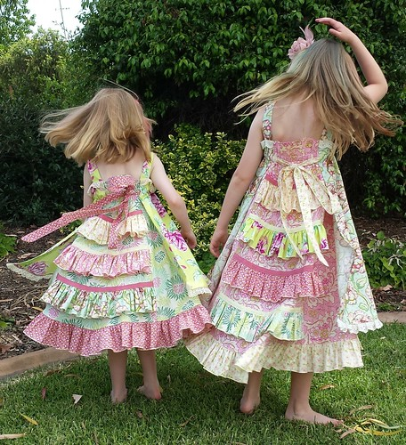 Feliz dresses for Christmas Day