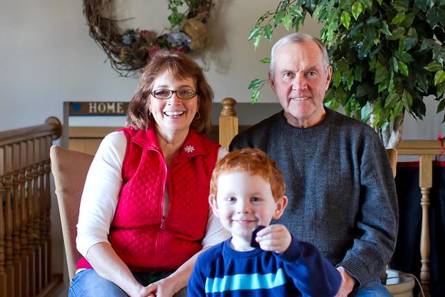 Mom, Dad & Ben