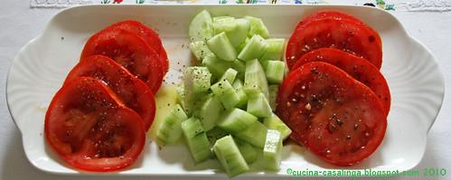 Entrecote Salat