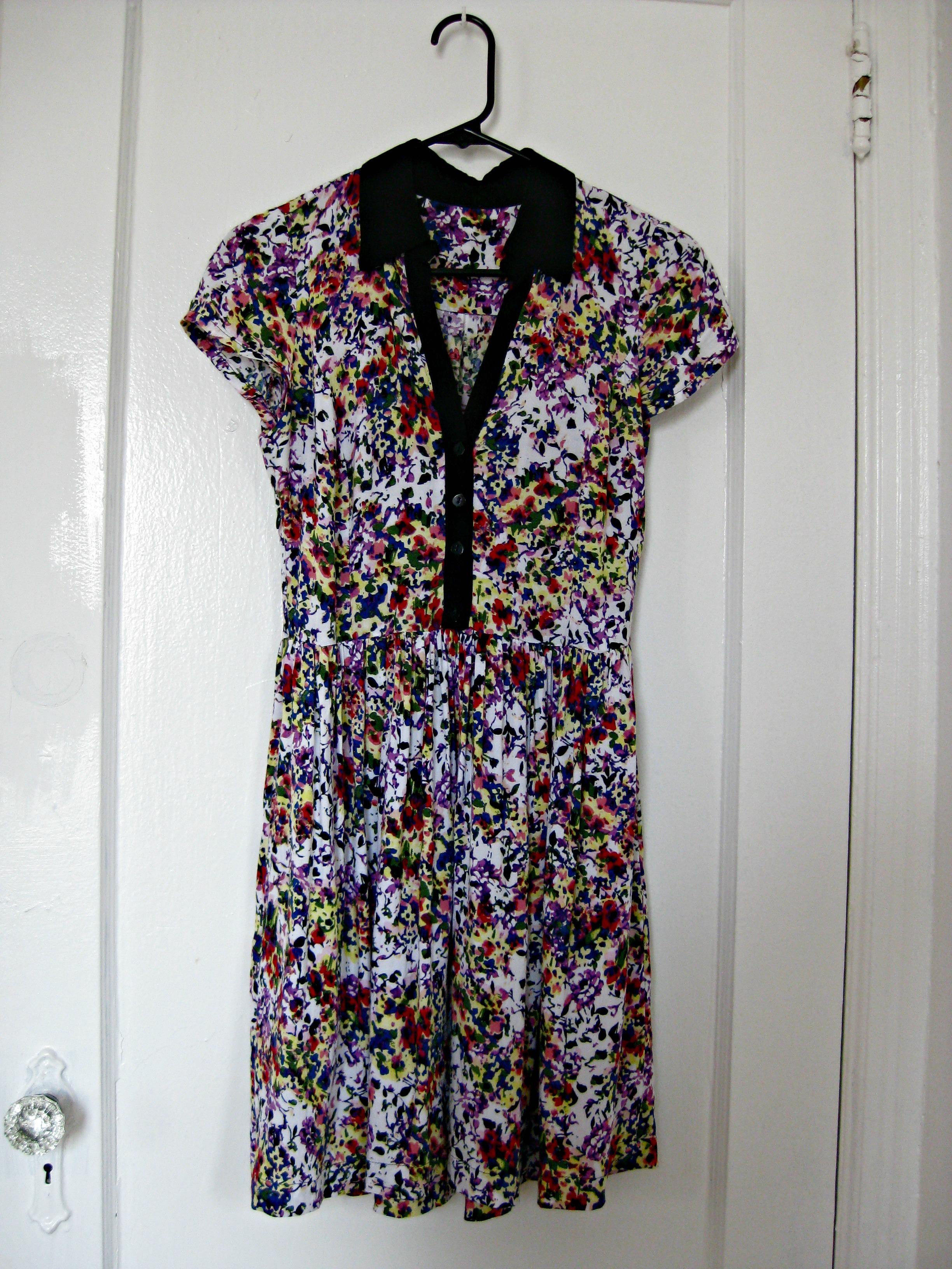 Floral Fields Shirt Dress