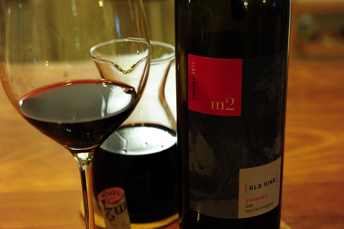 2011 m2 Wines Old Vine Zinfandel