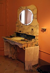 Appartment in Casa Mila by A. Gaudi - The rest room