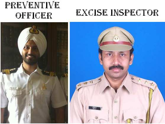Uniform-preventive-office-excise-inspector