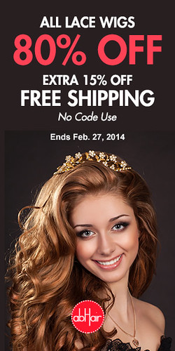 80% off All Lace Wigs Coupon Code by Dena Eden