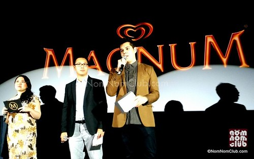 Magnum Gold Philippine Launch