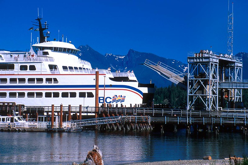 Bc Ferry Langdale Sunshine Coast British Columbia Travel And