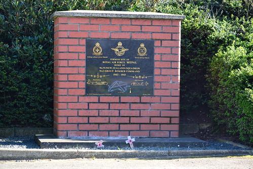 RAF Mepal memorial