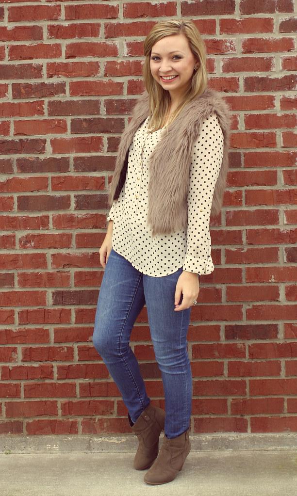 IMG_9275, polka dot, lauren conrad blouse