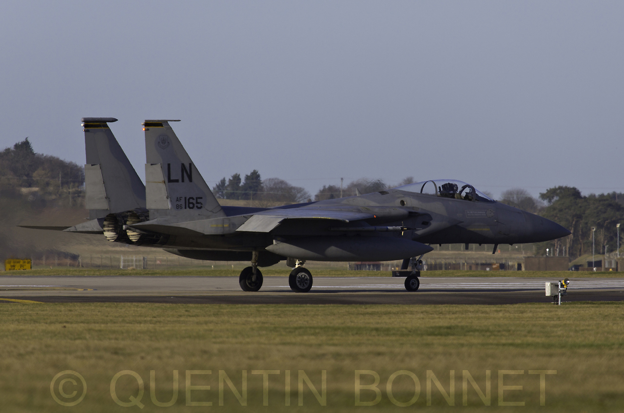USAF McDonnell Douglas F-15C LN 86-165