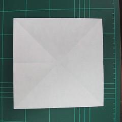 การพับกระดาษเป็นฐานนกอินทรี (Origami Eagle) 004