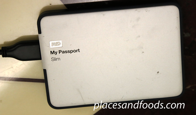 wd my passport slim damaged