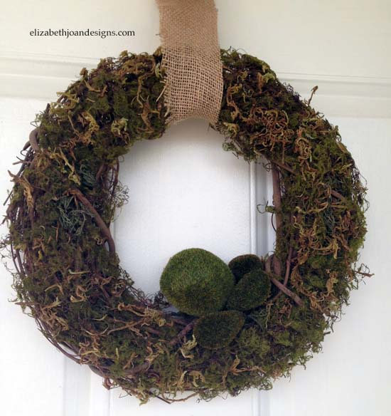 Spring Moss Wreath 3