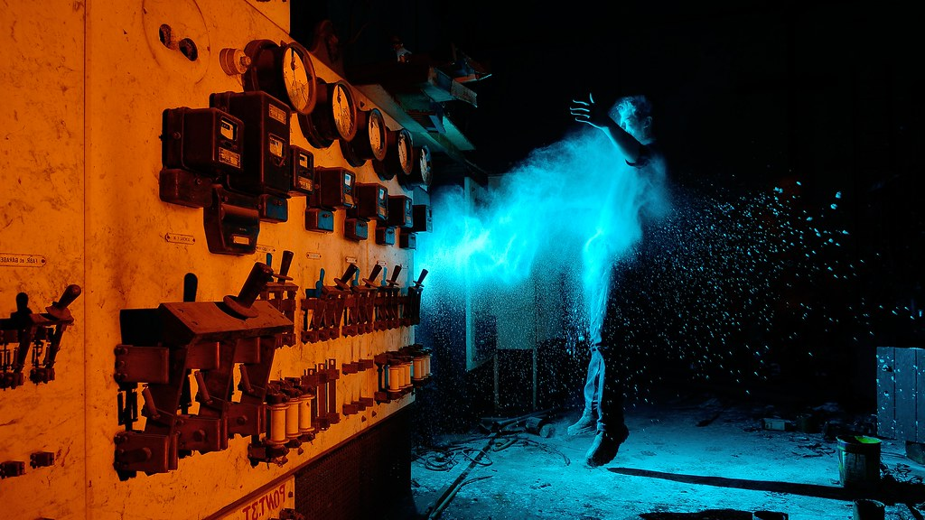 Electric blast