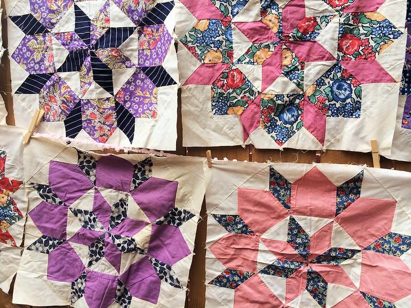 Vintage Quilt Blocks 5