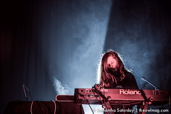 Jessy Lanza @ Hollywood Palladium, LA 4/1/14