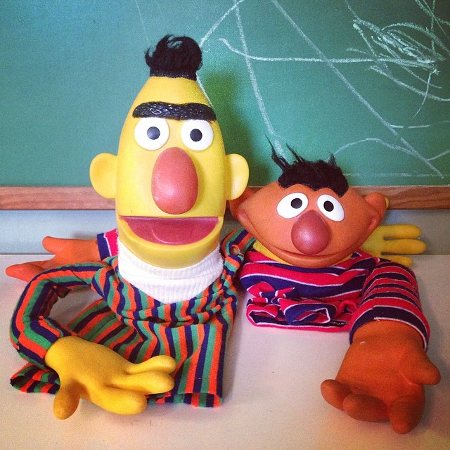Your the Cheese & I'm the Macaroni for the #sesamestreet c
